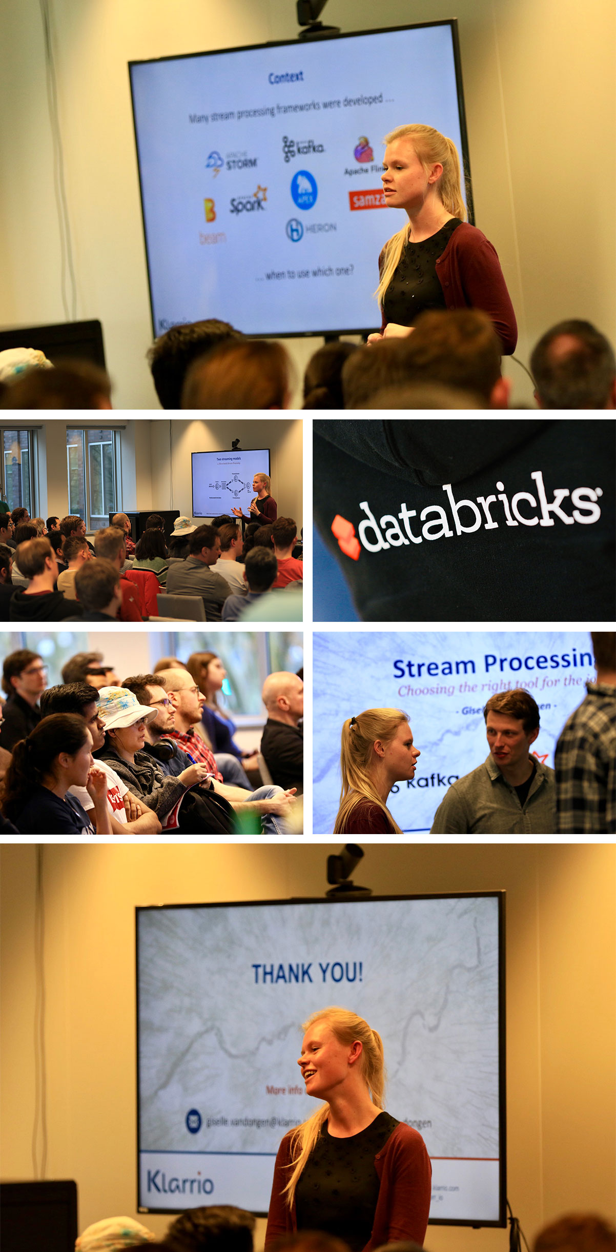If you've missed the Apache Spark Meetup… – Klarrio
