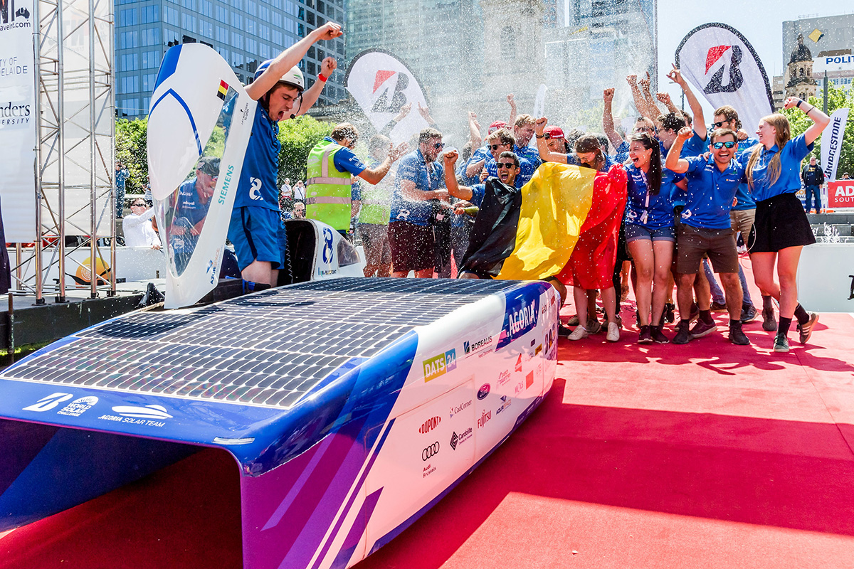 AGORIA SOLAR TEAM, Officially World Champions of BWSC